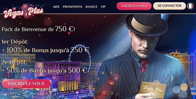 différents bonus VegasPlus